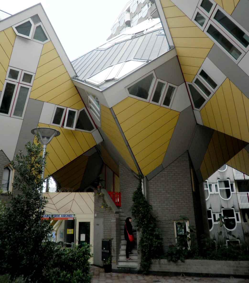 Rotterdam un itinerario a piedi di architettura for Architettura casa moderna