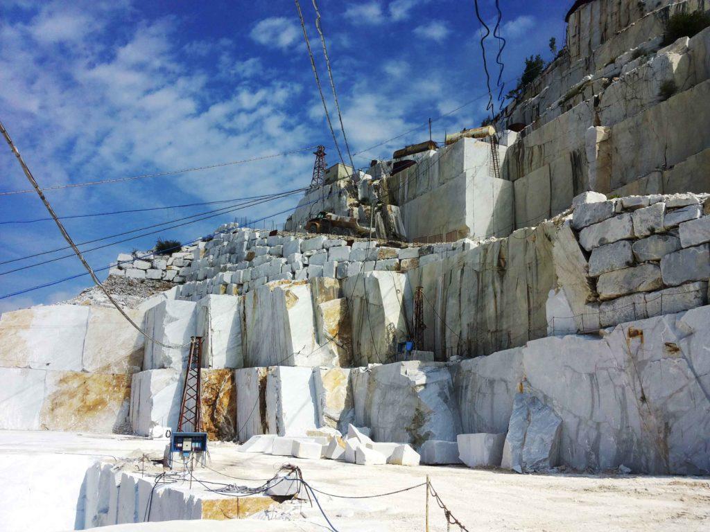 tour delle cave di marmo