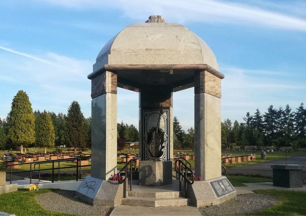 tomba di jimi hendrix seattle