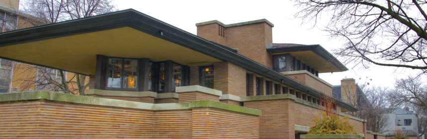 frank lloyd wright a chicago