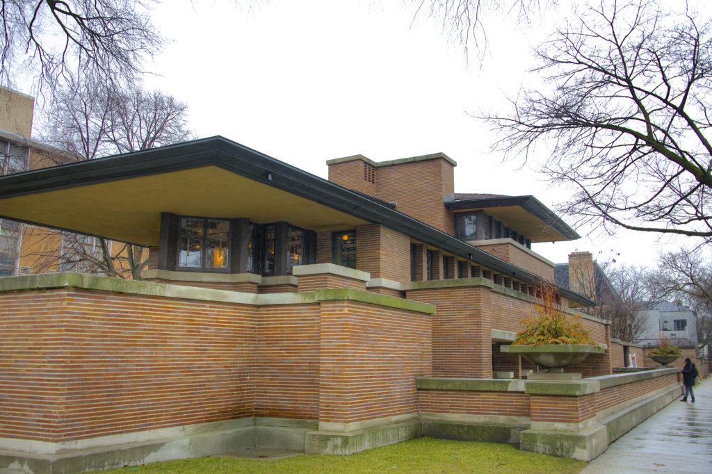 itinerario di architettura chicago wright