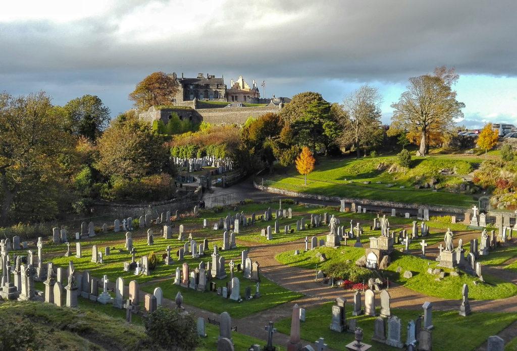 Un giorno a Stirling, Scozia, tra castelli e cimiteri