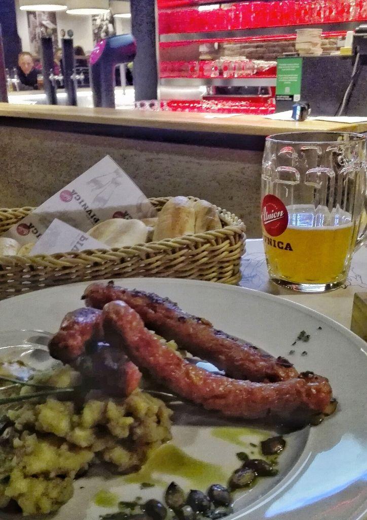 cibo e birra sloveni