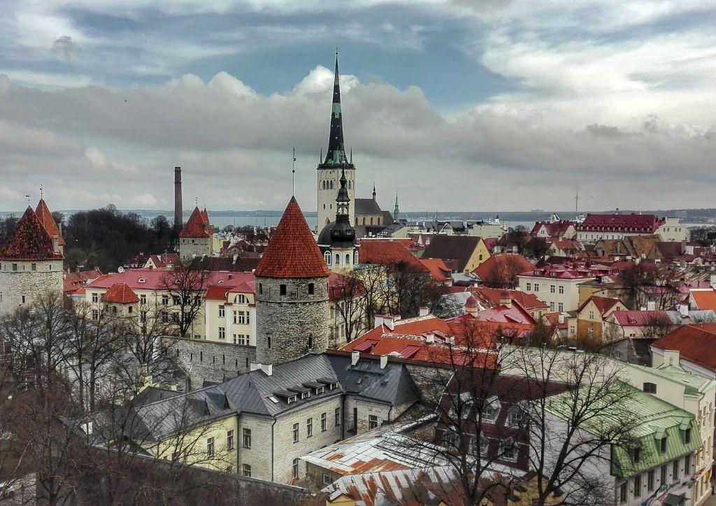 città vecchia dall'alto