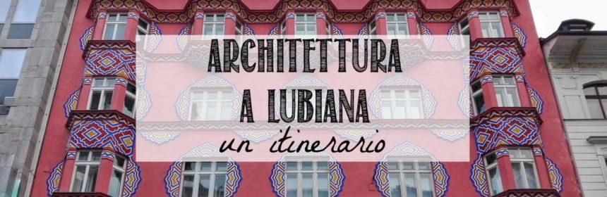architettura a lubiana