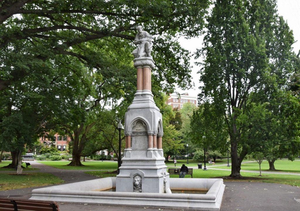 monumento al parco boston common