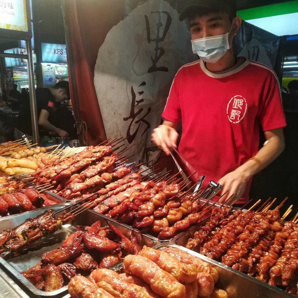 night market street food