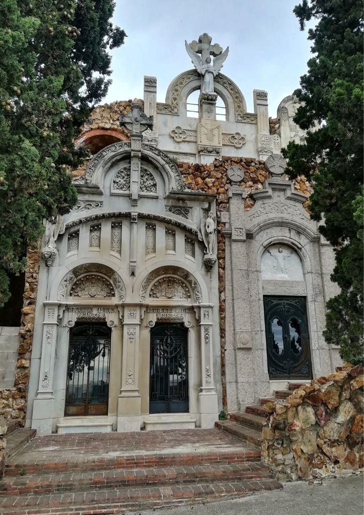 cimitero Montjuic cappelle architettura