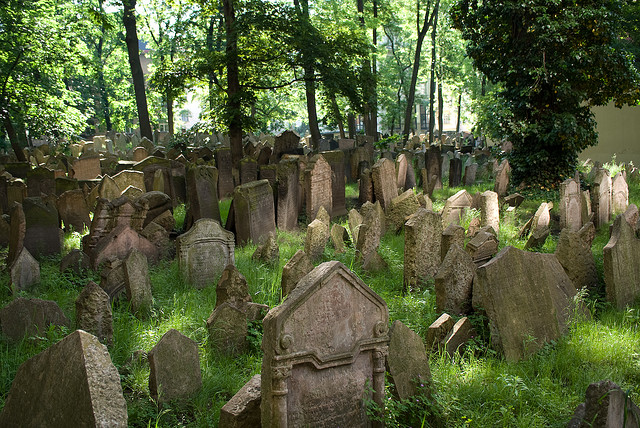 antico cimitero ebraico di praga