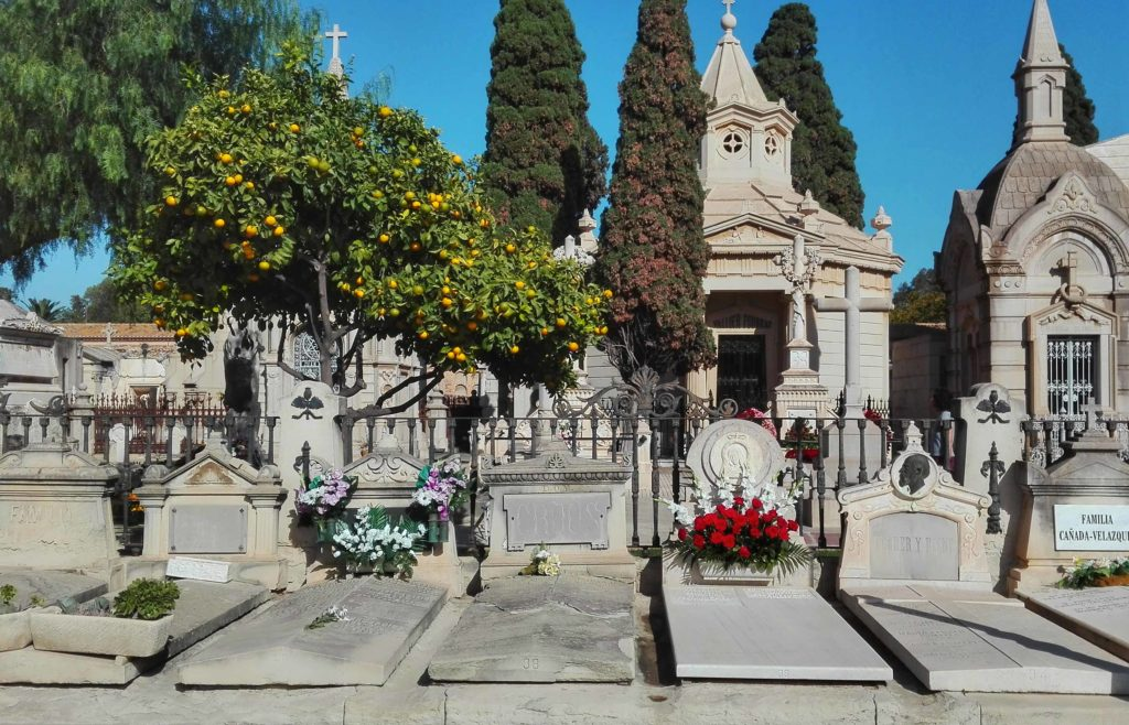 tombe e cappelle al cimitero monumentale di valencia