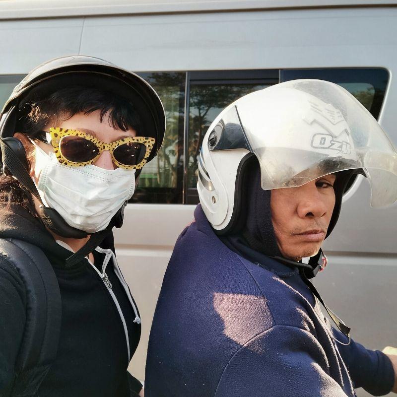 spostarsi in mototaxi a bangkok