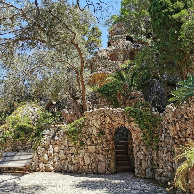la villa sull'isola bella